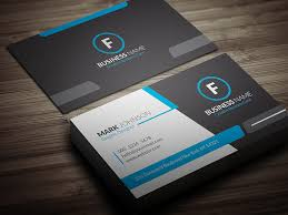 business card templates cool blue corporate business card template free download cp00018