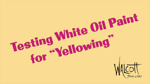 Rublev Oil Paint Color Chart Testing White Oil Paint For Yellowing