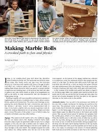 diy wooden marble run