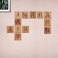 Taking inspiration from the classic word games of crossword & scrabble, we've created wooden crossword wall art! Introducing Wooden Crossword Wall Art