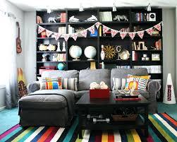 fender guitar area rug living room black modern coffee table