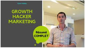 Growth Hacker Marketing Mon Resume En Francais Youtube