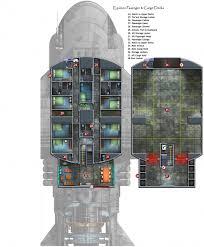 327 Best Spaceship Floorplans U0026 Cutaways Images On Pinterest Spaceship Floor Plan