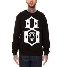 Свитшот мужской с принтом <b>Rebel8</b> Diamond Кофта - купить в ...