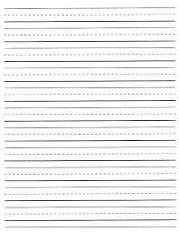 Elementary Ruled Paper Elementary Lined Paper Printable Kindergarten Hand Writing Template