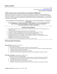Industrial Resume Examples Resume Sample Resume Mechanical Industrial Sales With Managing 16