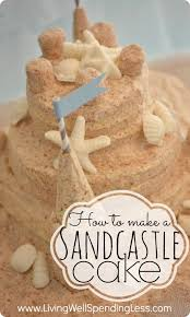 How To Make A Sandcastle Cake Living Well Spending Less