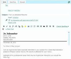 Subject Line For Sending Resume Luxury Cover Letter Sample Resume