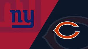 Giants Defense Depth Chart New York Giants Chicago Bears 11 24 19 Matchup Analysis