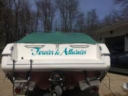Details About Boat Name Lettering Custom Vinyl Decal Sticker Pwc Speed Fishing Pontoon Transom