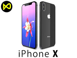 apple iphone 10. apple iphone x - 10 space gray 3d model iphone h