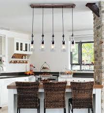 mason jar island light wood pendant lighting 5 light ceiling lights linear chandelier lighting mason jar kitchen island light