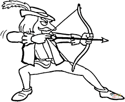 Small Picture Robin Hood coloring page Free Printable Coloring Pages