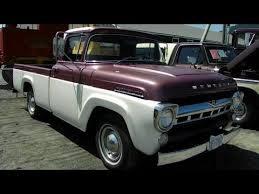 1957 Mercury Pickup Truck Antique Truck Show Duncan BC 2012 - YouTube