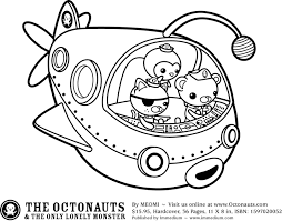 Small Picture Octonauts colouring pages Party Planning Pinterest