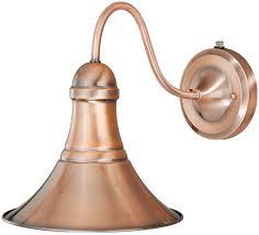 vaxcel t0036 vesper vintage copper finish 11 25 nbsp tall exterior sconce lighting loading zoom