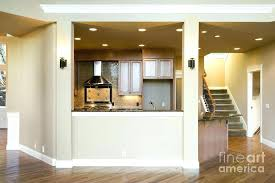 divider between kitchen and living room kitchen wall divider ideas half wall between kitchen and living room half wall between kitchen hallways kitchen wall