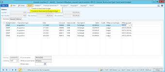 Budget Control Dynamics 365fo Ax Finance Controlling