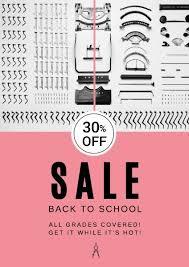 School Poster Maker Poster Maker Design Back To School Stationery Promotion Poster