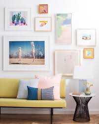 Frame For Living Room How To Choose Frame And Hang An Art Collection Emily Henderson