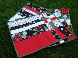 Quilted Placemat Patterns Best Decorating Design