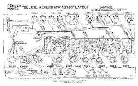 deluxe reverb reissue rebuild deluxe reverb ab763 chassis layout click picture for full size external link