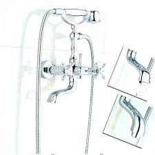 shower tub diverter tub spout with handheld shower tub spout with handheld shower wall mounted rotate shower tub