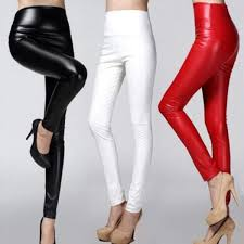 0504 spring high waist velvet pants skinny trousers pu faux leather pants women skinny trousers