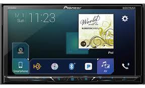 Pioneer Avh 2330nex Double Din Crutchfield Pioneer Avh2330nex Front Dvd Receiver At Crutchfieldcom