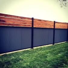 corrugated metal fence diy corrugated metal fence inspirational custom privacy fence built out of metal post corrugated metal fence diy
