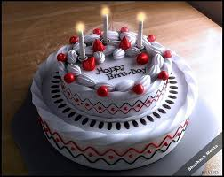 Birthday Cake 3d Art By Shashank Mehta In 3d Scenes At