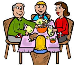 family dinner table clipart. pin table clipart family #5 dinner u
