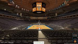 madison square garden seating chart view from section 112
