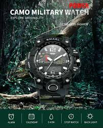 Military <b>Watch Digital SMAEL</b> Brand <b>Watch</b> S Shock <b>Men's</b> ...