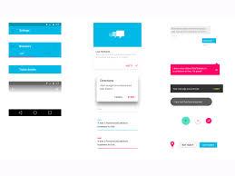 Android Material Design UI Kit Sketch freebie - Download free ...