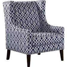white wingback chair. Agnes Wingback Chair White H