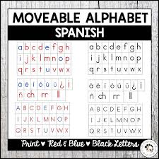 Get a printable set of awesome flash cards to practice the spanish alphabet at: Spanish Moveable Alphabet Print