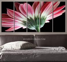 pink daisy flower canvas print canvas art prints for wall flower large art canvas on flower wall art prints with pink daisy flower canvas print canvas art prints for wall flower