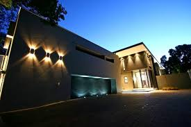 exciting wall mounted outdoor lights exterior garage lights outdoor wall lamps lighten and garage and street and brown house and tree