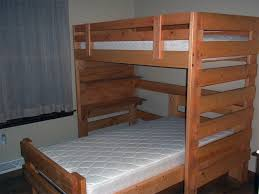 L-Shaped Bunk Bed