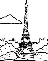 Small Picture Holiday in Eiffel Tower Coloring Page Holiday in Eiffel Tower