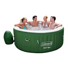 coleman lay z spa hot tub review
