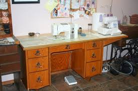 Bernina Sewing Machine Table Cabinet