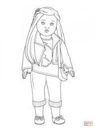 Small Picture American Girl Mckenna coloring page from American Girl category