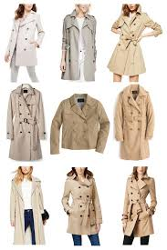 petite trench coat guide from top left the limited l banana republic l asos l banana republic l j crew l j crew l asos l michael michael kors l burberry