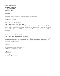 Resume Examples For Hairstylist Hairstylist Resumes Hairdresser ...