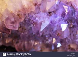 Geode Light Purple And White Natural Amethyst Geode Background Pattern