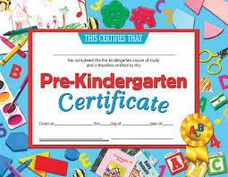 Kindergarten Award Certificate Rome Fontanacountryinn Com