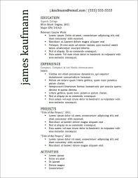 really good resume example good resume samples samples of good resume