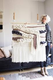 extra large woven wall hanging woven